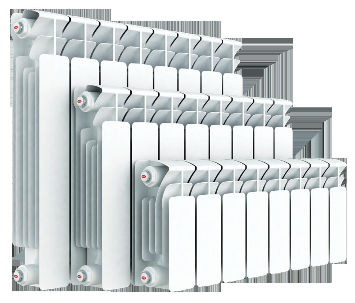 Секционный биметаллический радиатор Rifar ( Рифар ) Base
