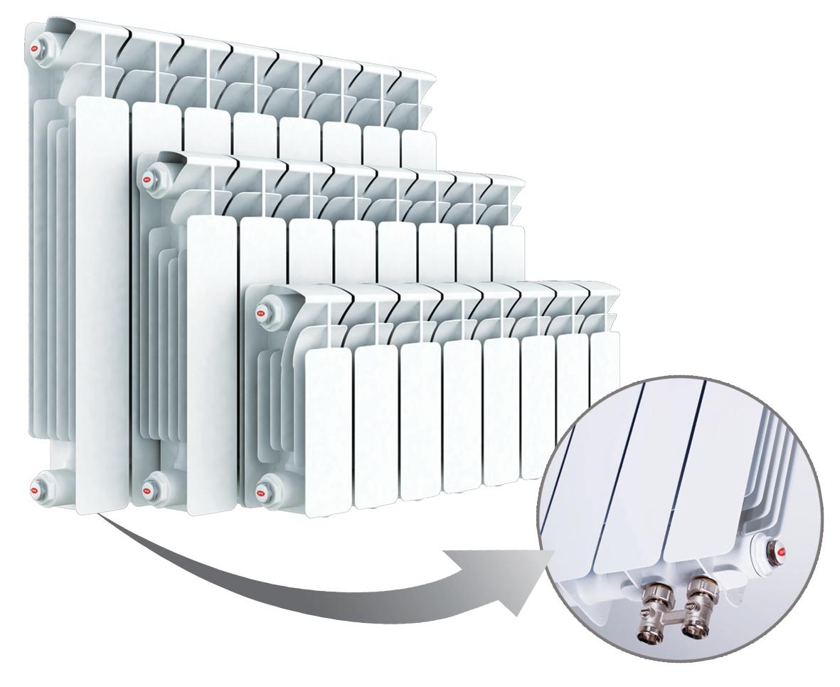 Биметаллический радиатор Rifar ( Рифар ) Base Ventil
